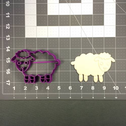 Sheep 101 Cookie Cutter