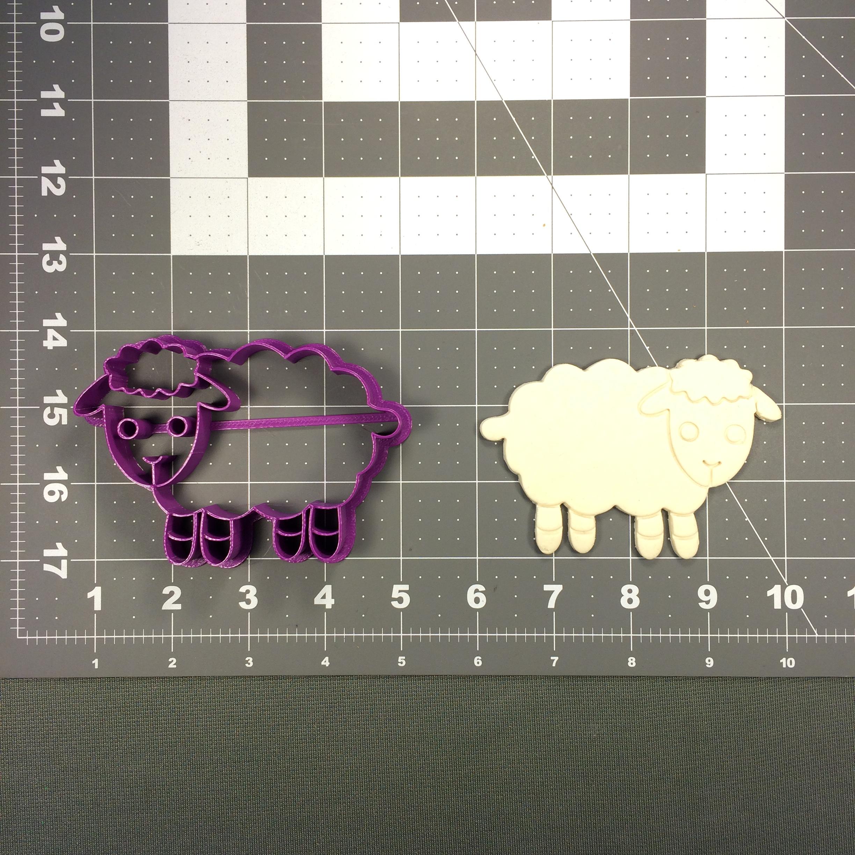 Sheep 101 Cookie Cutter