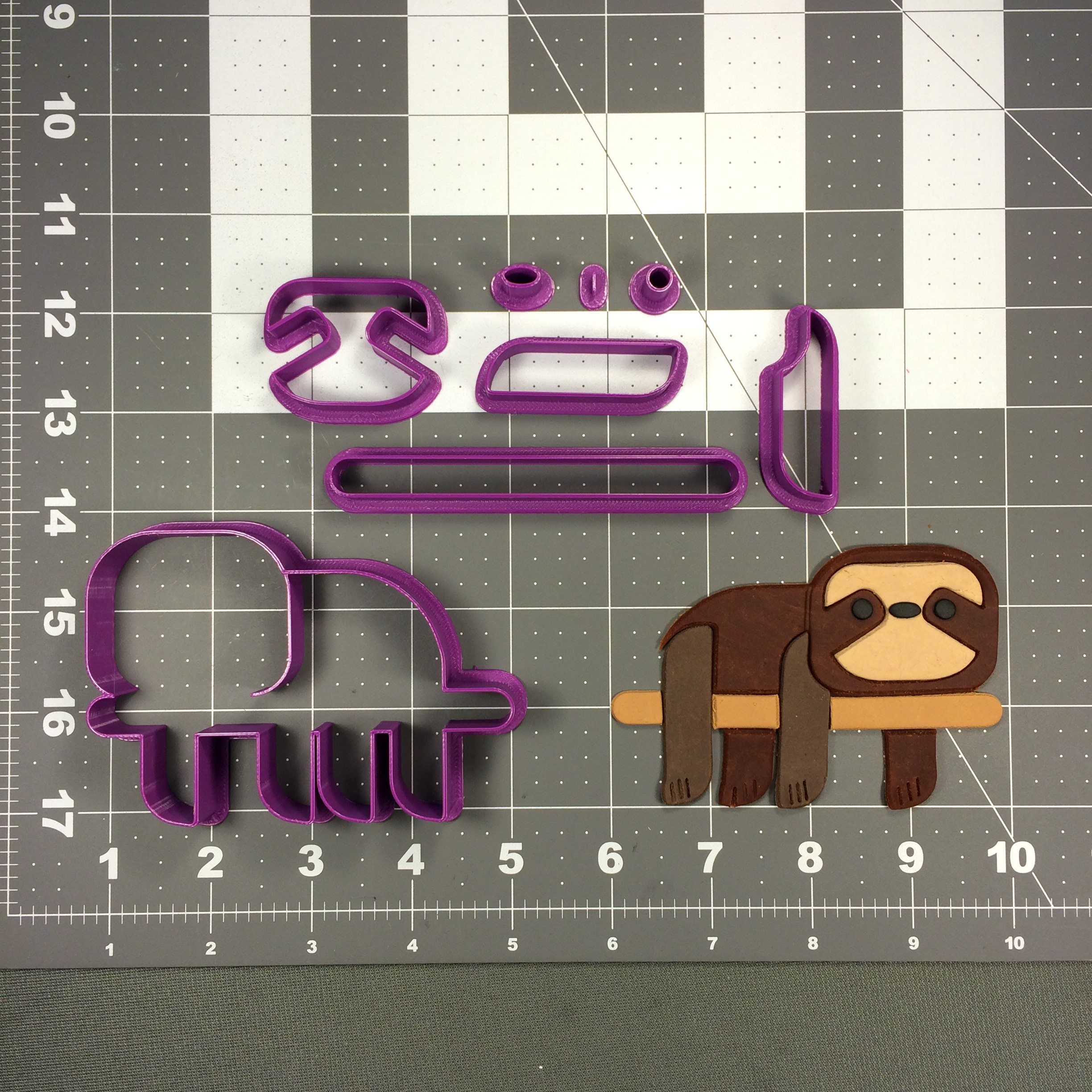 Sloth 100 Cookie Cutter Set