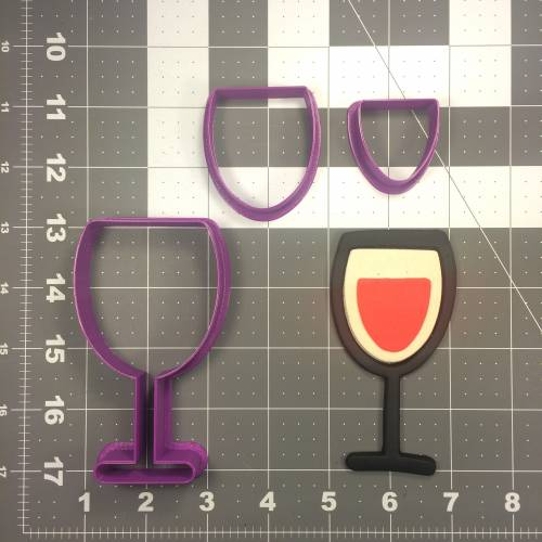 Wine Glass 102 Cookie Cutter Set