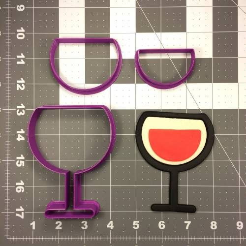 Wine Glass 103 Cookie Cutter Set
