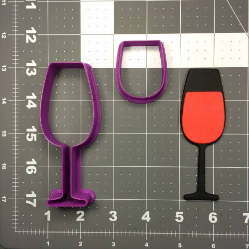 Wine Glass 104 Cookie Cutter Set