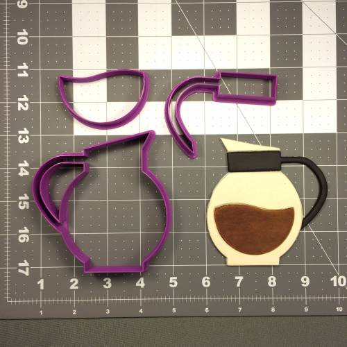 Coffee Pot 266-079 Cookie Cutter Set