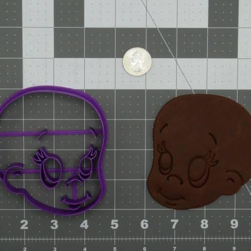 Baby Head 266-C969 Cookie Cutter