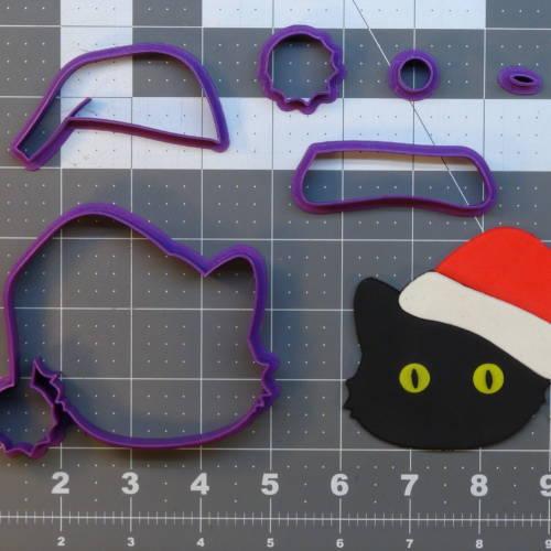 Christmas Cat 266-A561 Cookie Cutter Set