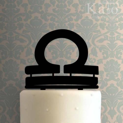 Libra Zodiac Symbol 225-810 Cake Topper