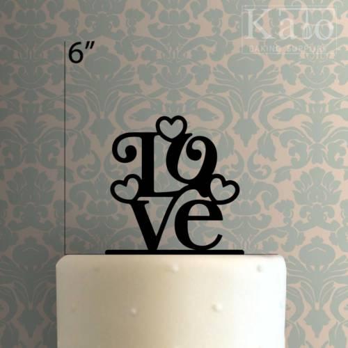 Love 225-189 Cake Topper
