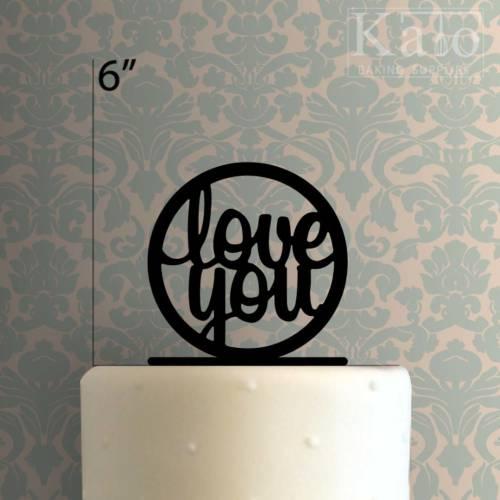 Love You 225-468 Cake Topper