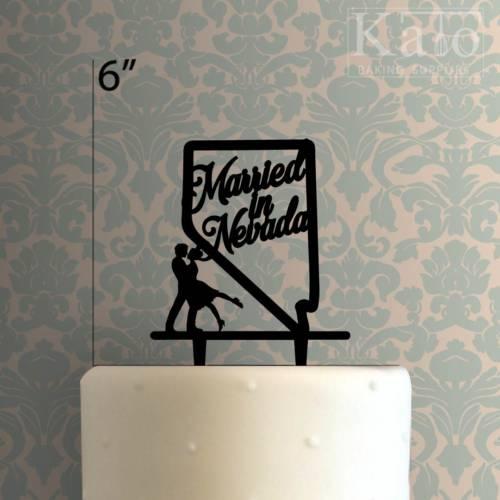 Married in Nevada 225-508 Cake Topper