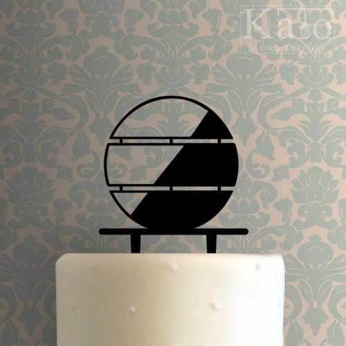 Minimalist Circle 225-498 Cake Topper