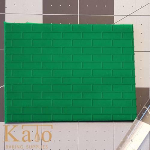 Brick Pattern Imprinted 765-499 Rolling Pin .5in