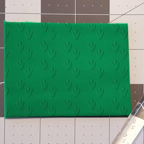 Dinosaur Footprints 765-531 Rolling Pin .5in