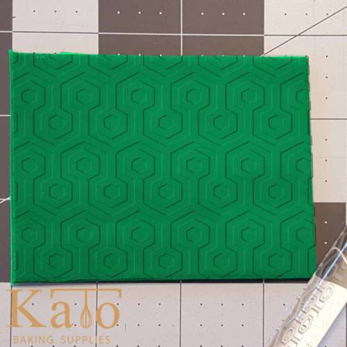 Geometric Hexagon Pattern 765-497 Rolling Pin .5in