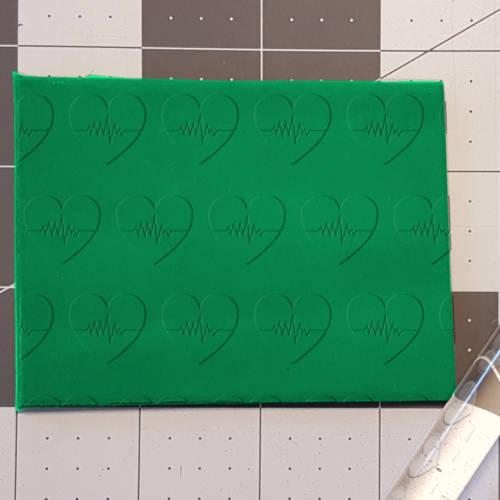 Heartbeat Heart 765-544 Rolling Pin .5in